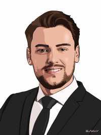 Florian Perretin, Juriste